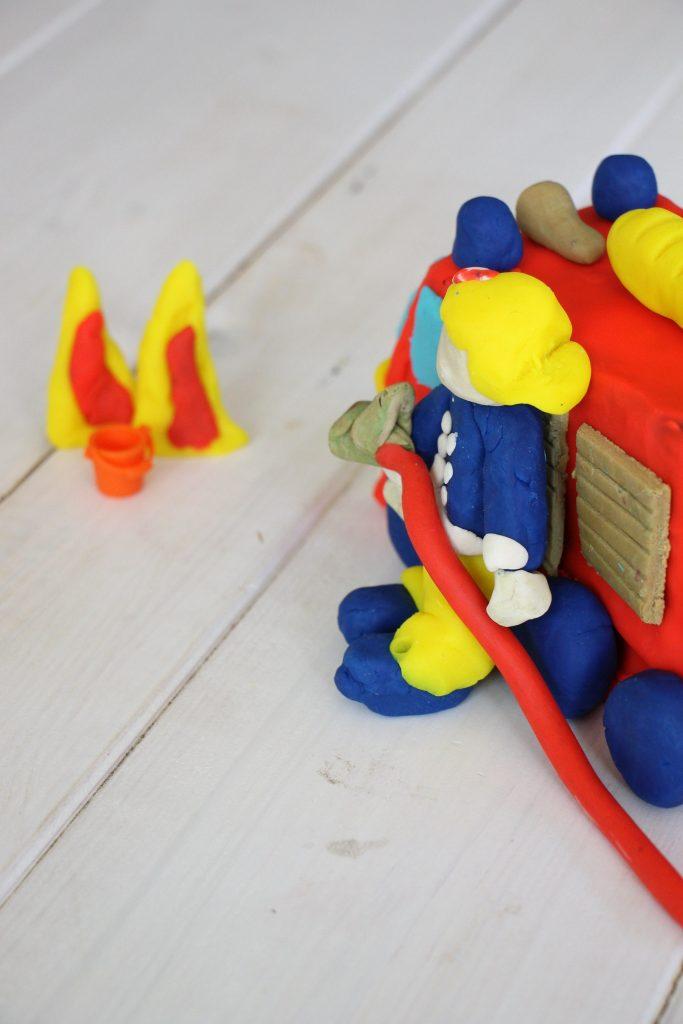 Helden Feuerwehrmann Sam Play-Doh