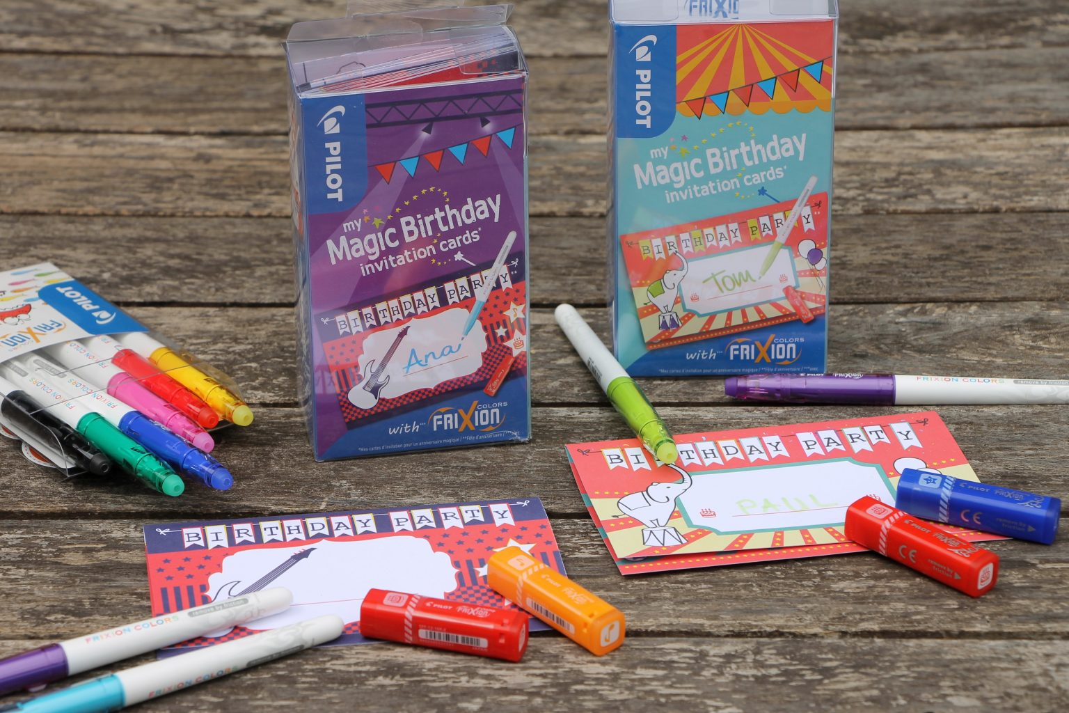 PILOT myMagic Birthday Cards Erfahrungen