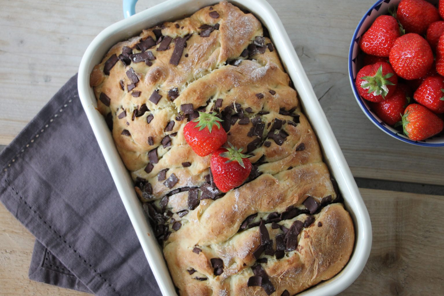 Pull-Apart-Bread mit Schokolade Rezept
