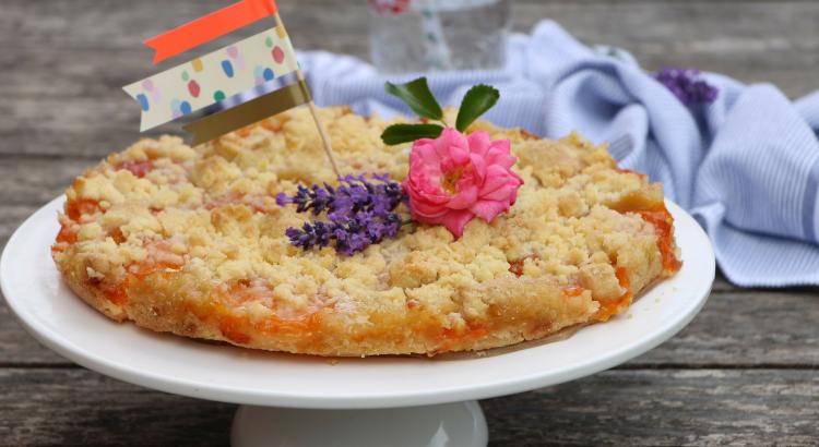 Sommerkuchen Rezepte : Der perfekte sommerkuchen: aprikosenkuchen mit streuseln lavendelblog