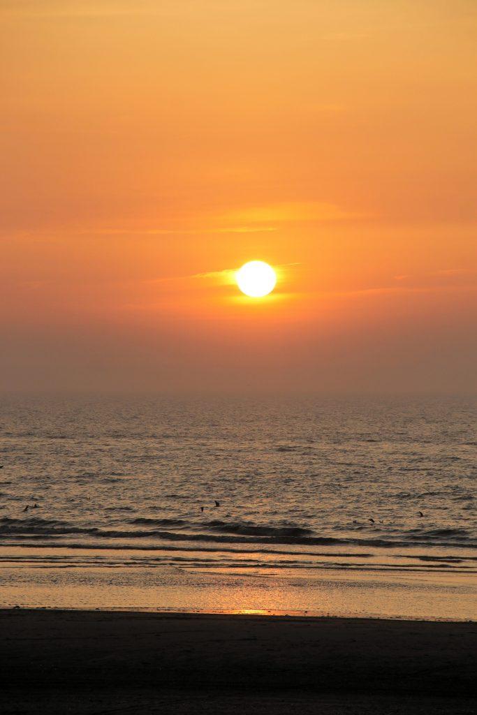 Sonnenuntergang Hoek van Holland