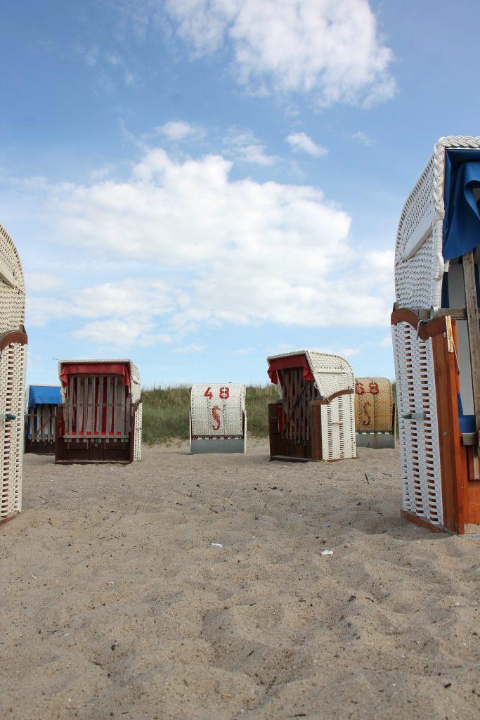 Strandkorb mieten Ostsee