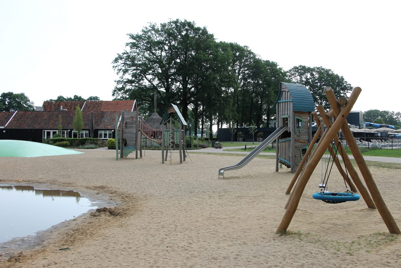 moderner Campingplatz Holland