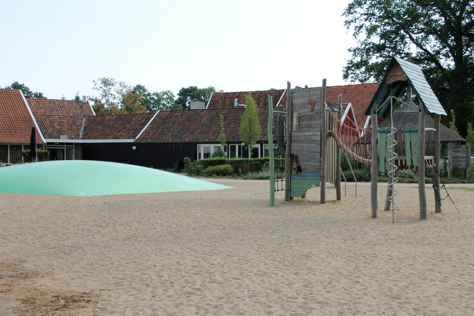 moderner Campingplatz Niederlande