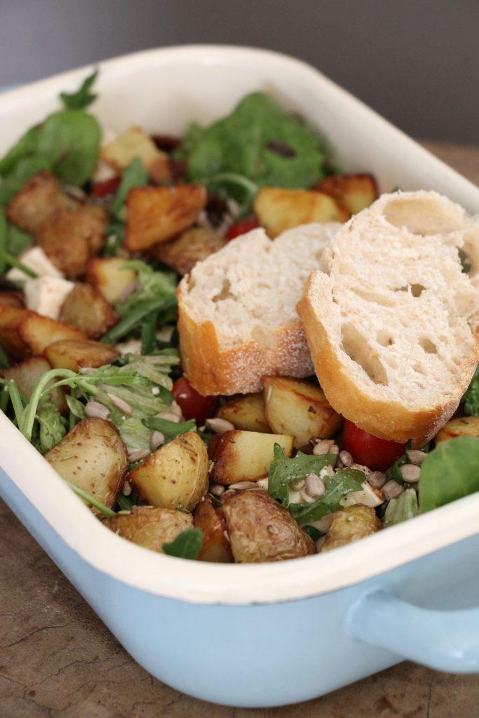 sättigender Salat Rezept
