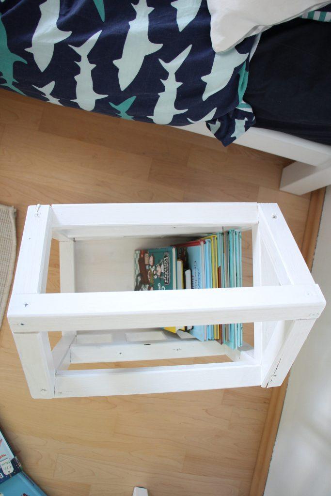 Bücherkiste Holz Kinderzimmer