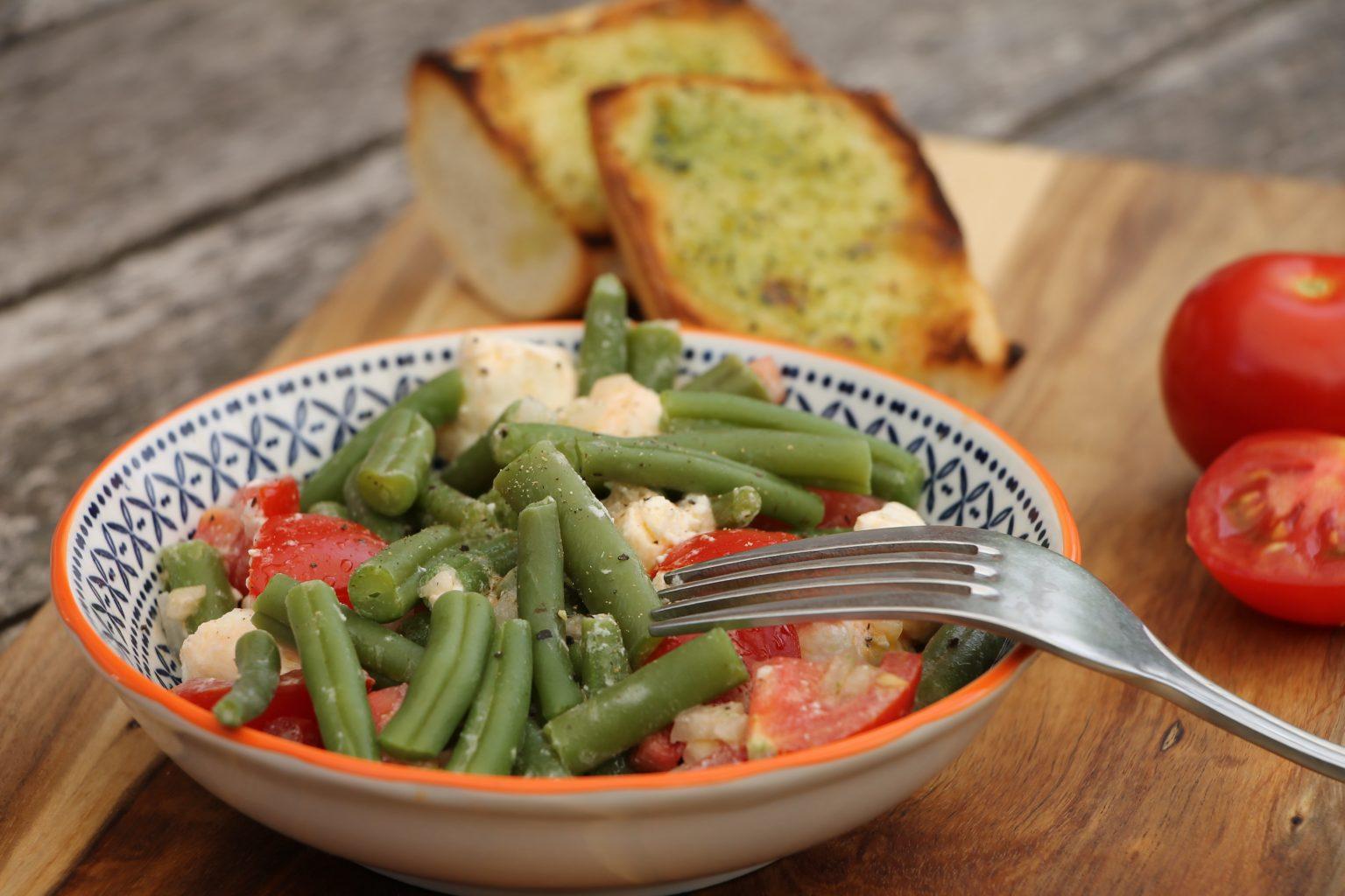 Bohnen Rezept Sommersalat