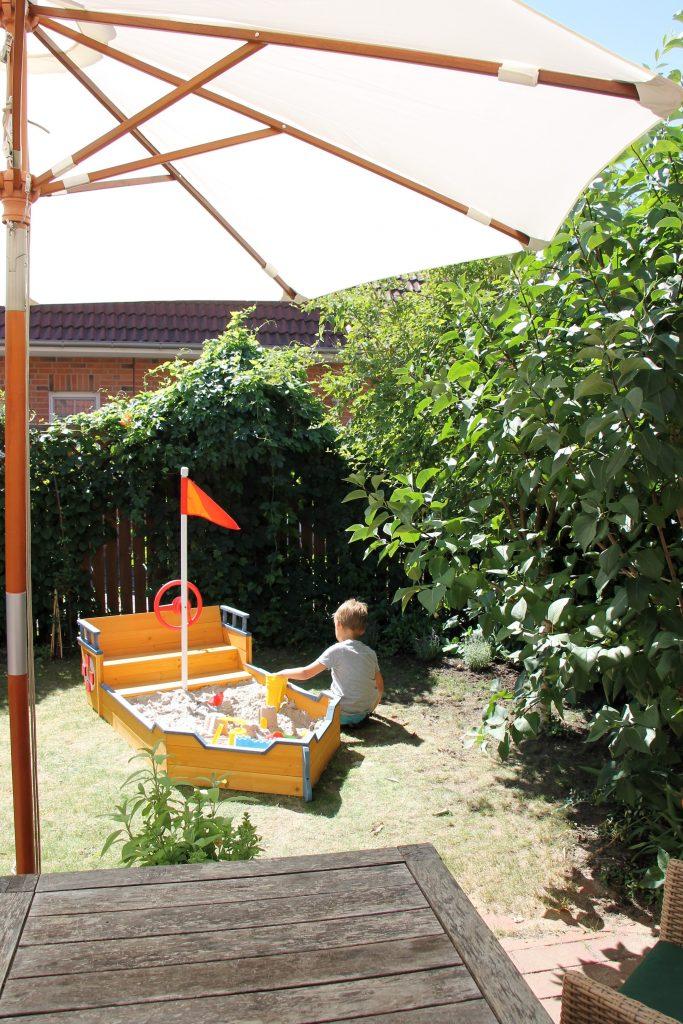 Gartengestaltung Ideen für Kinder