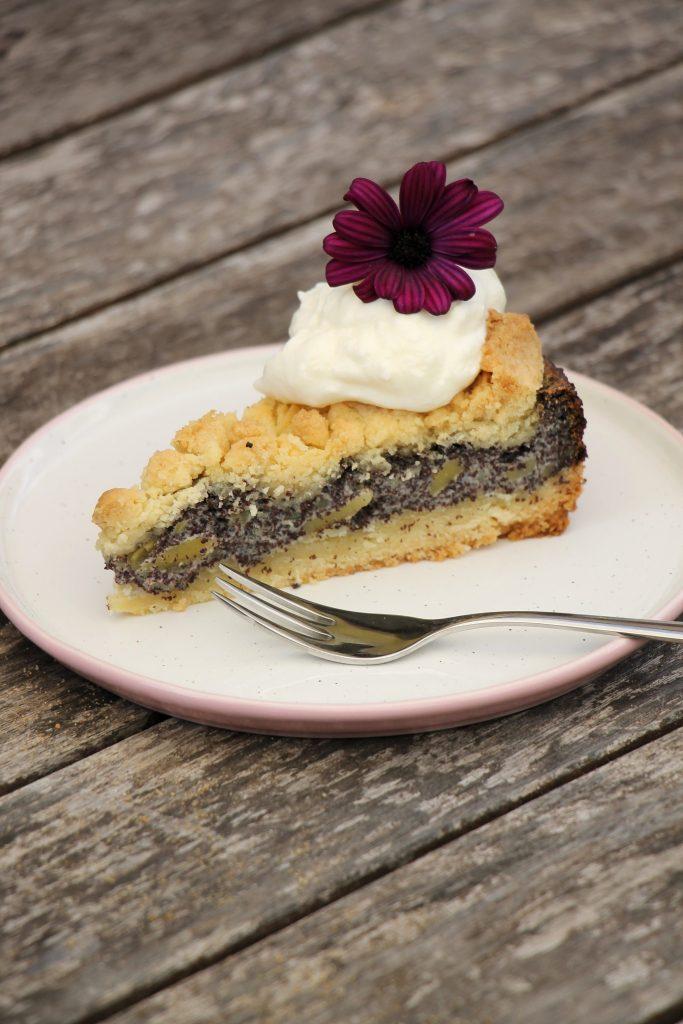 Mohnkuchen mit Pudding Rezept