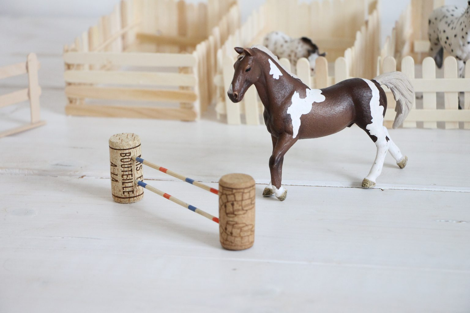 Pferde Hindernisse selber bauen
