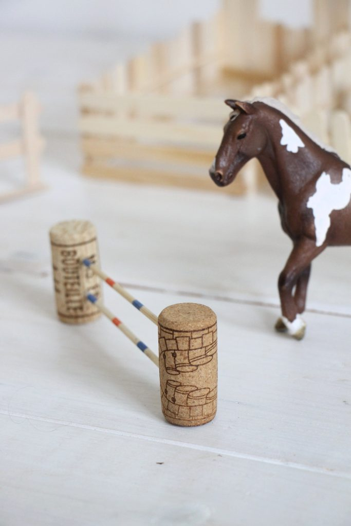 Pferde Parcours basteln