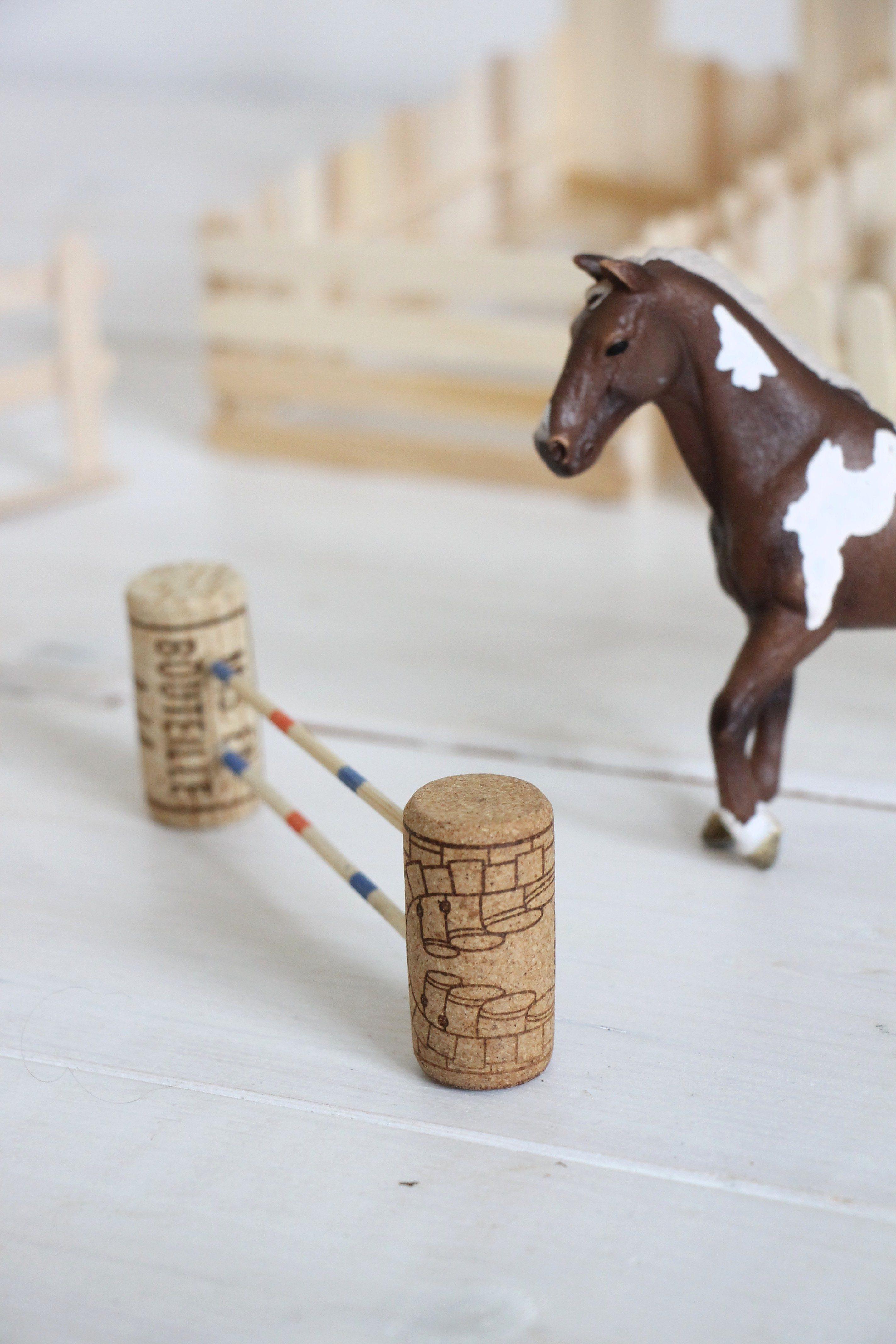 Pferde Parcours Basteln Lavendelblog