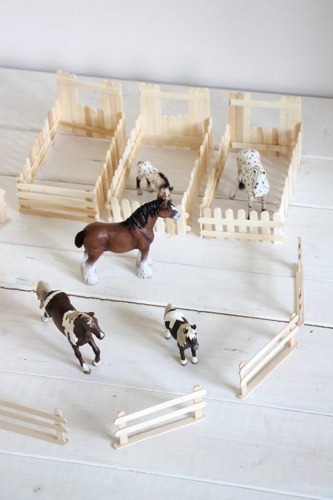 Pferdestall basteln DIY