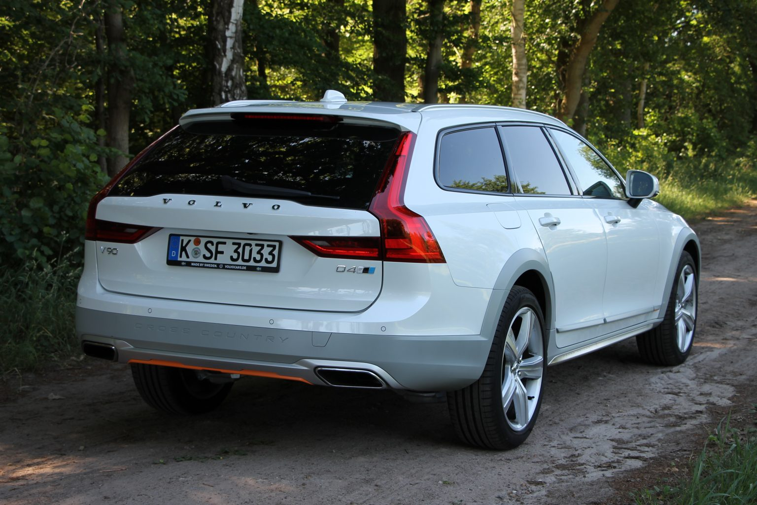 Volvo V90 Cross Country D4 Test