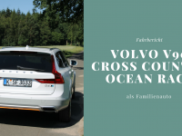 Fahrbericht: Volvo V90 Cross Country Ocean Race als Familienauto im Test