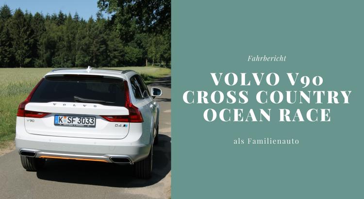 Volvo V90 Cross Country D4 Test