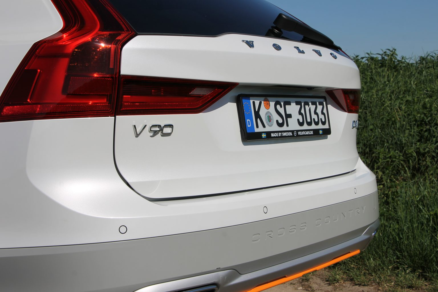 Volvo V90 D4 AWD Test