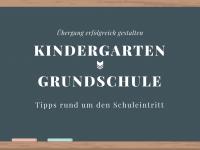 Übergang vom Kindergarten in die Grundschule: Tipps zum Schuleintritt