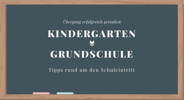Übergang Kita Grundschule Tipps