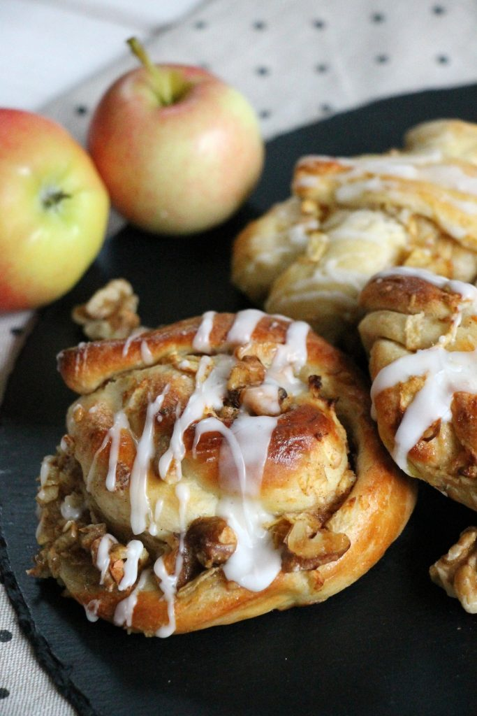Apfel-Knoten Rezept