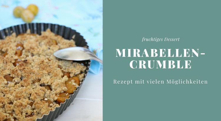 Crumble Mirabellen Rezept