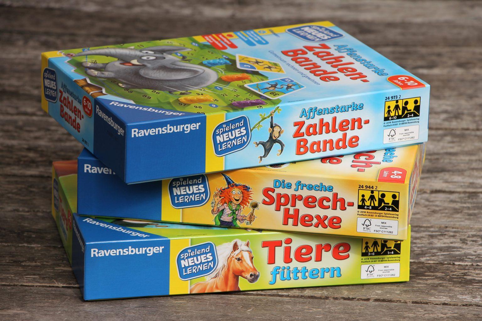 Ravensburger Lernspiele Spielend Neues Lernen Test