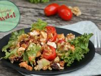 Vegetarischer Reissalat: Rezept für einen mediterranen Salat