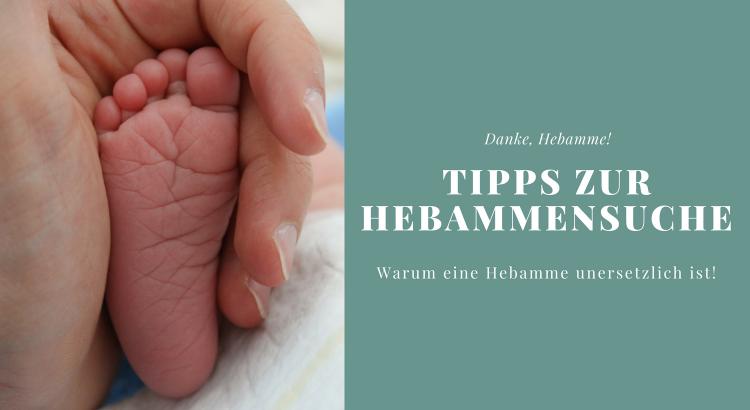 Tipps Hebammensuche