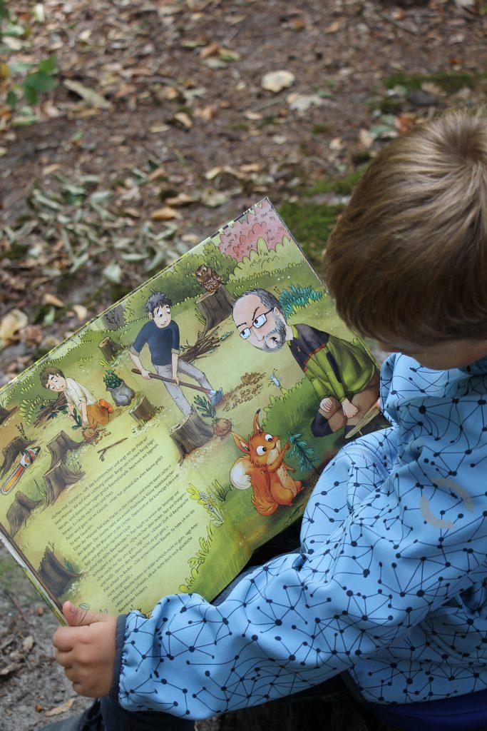Bilderbuch Wald