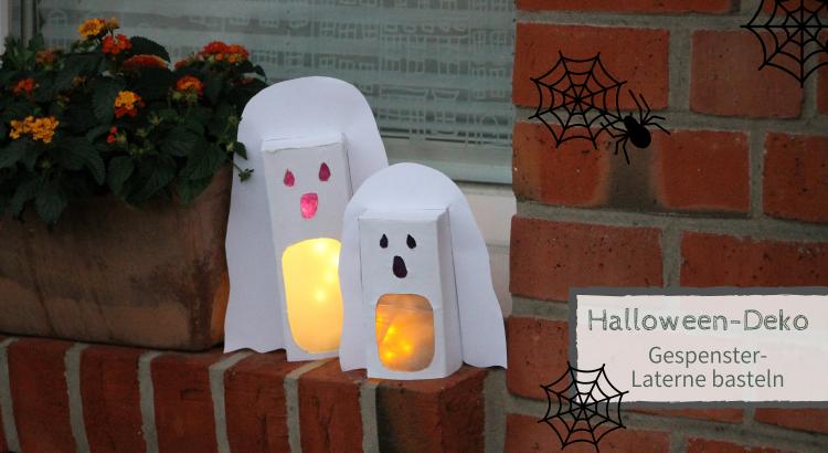 DIY Halloween Gespenster basteln