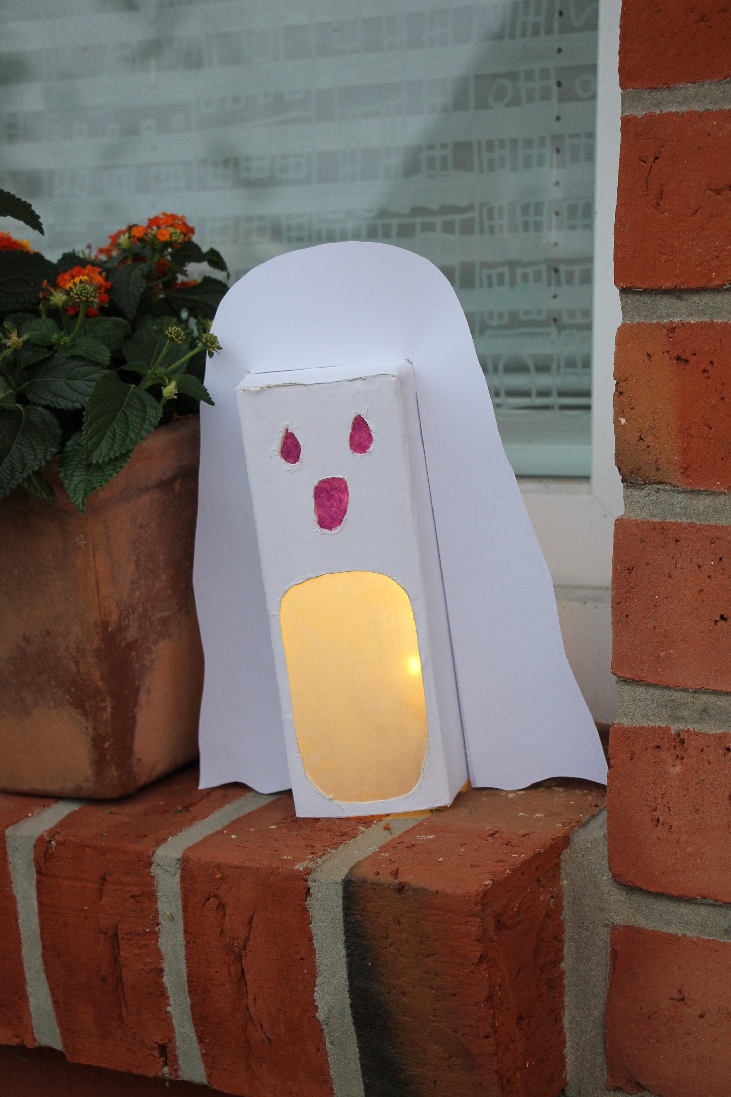 Halloween Deko Basteln Lavendelblog