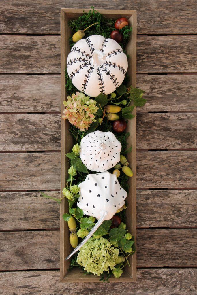 Herbst Tischdeko Idee