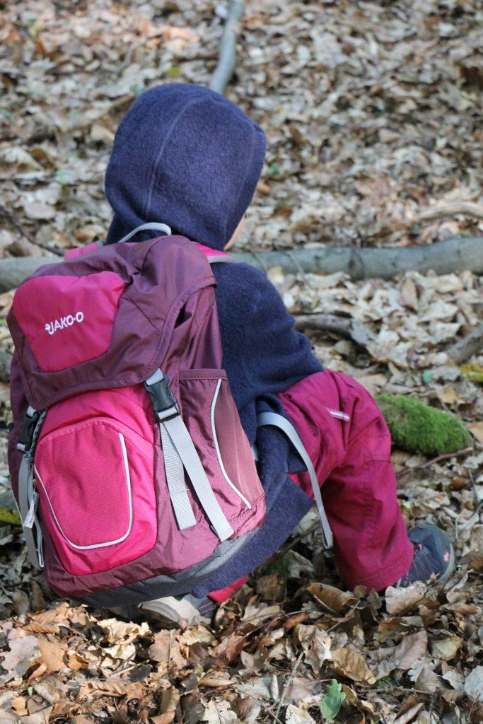 Kinder Rucksack Waldtag