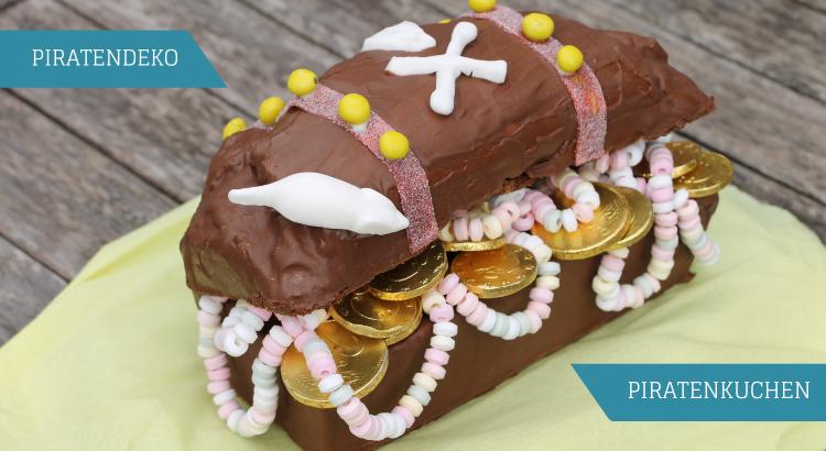 Kuchen Piratengeburtstag Deko