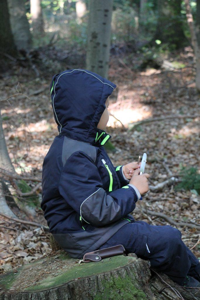 Lernen im Wald Montessori