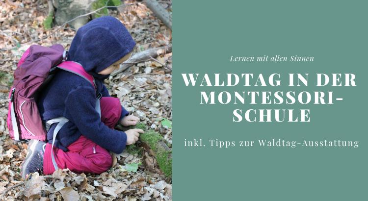 Lernen mit allen Sinnen Montessori