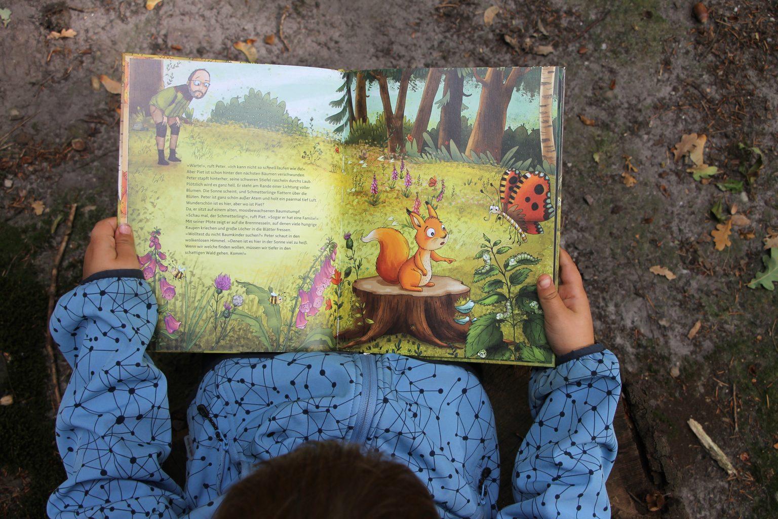 Naturschutz Kindergartenkinder