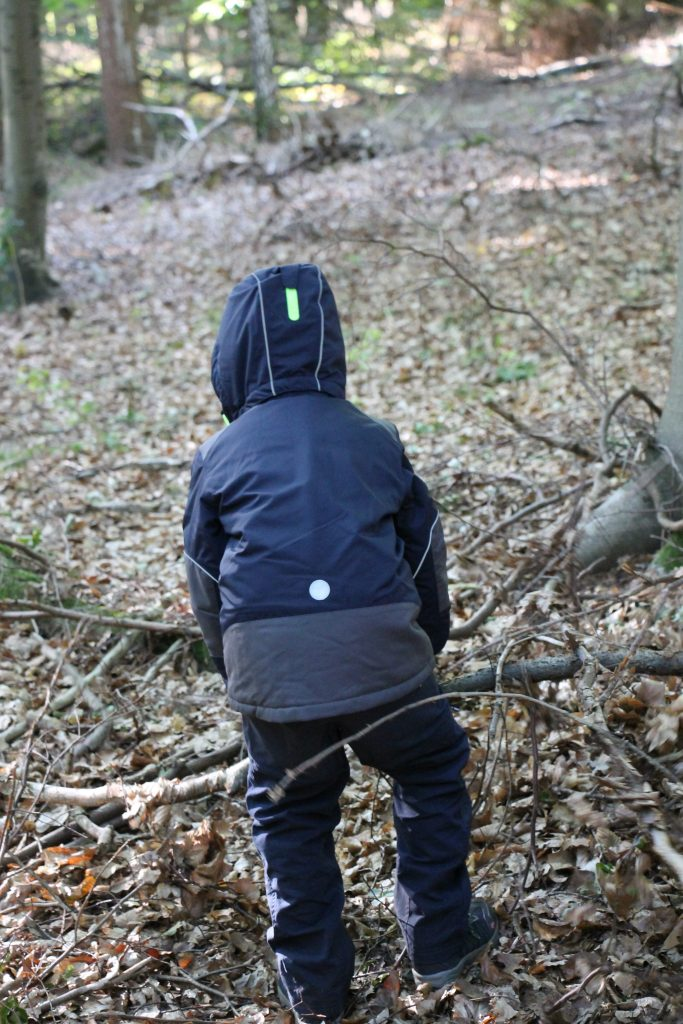 Outdoorjacke Waldtag Montessori