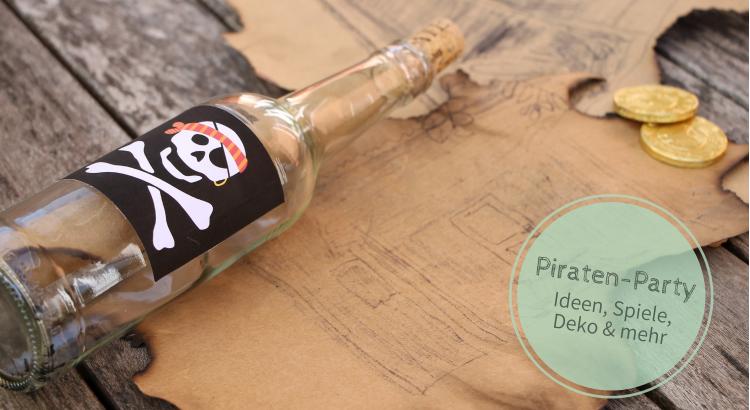 Piratengeburtstag Ideen Schatzsuche