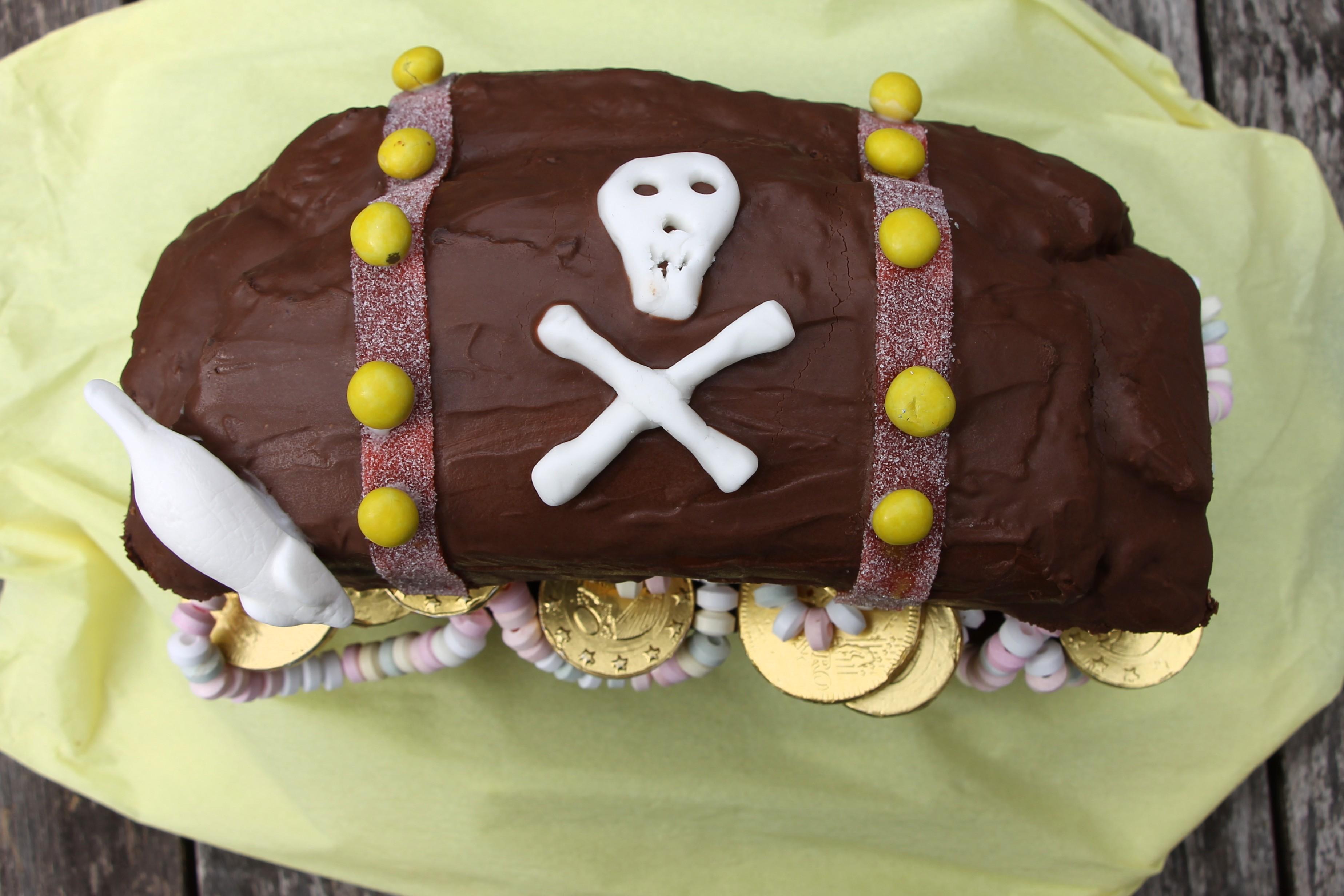 Piratenkuchen Rezept Lavendelblog