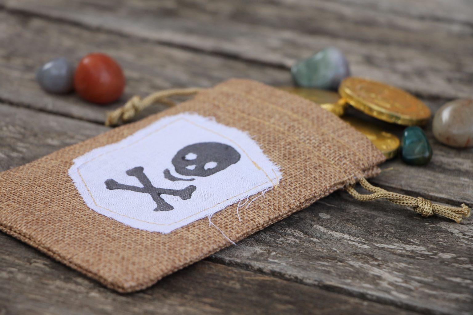 Schatzbeutel Piratenparty
