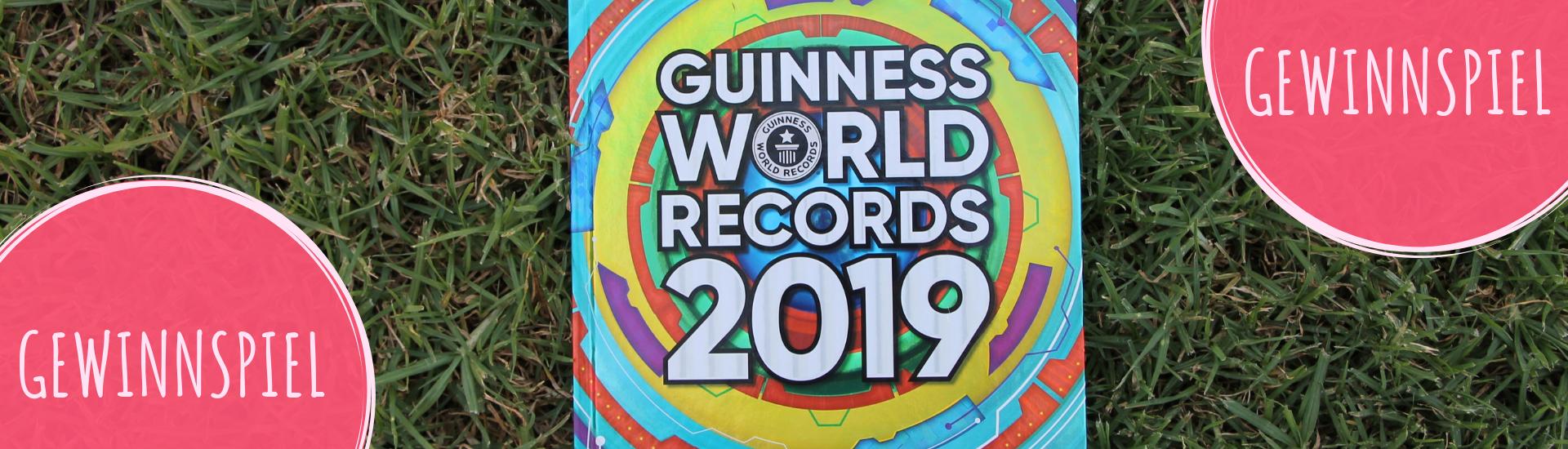 Gewinnspiel Guinness World Records 2019 Buch