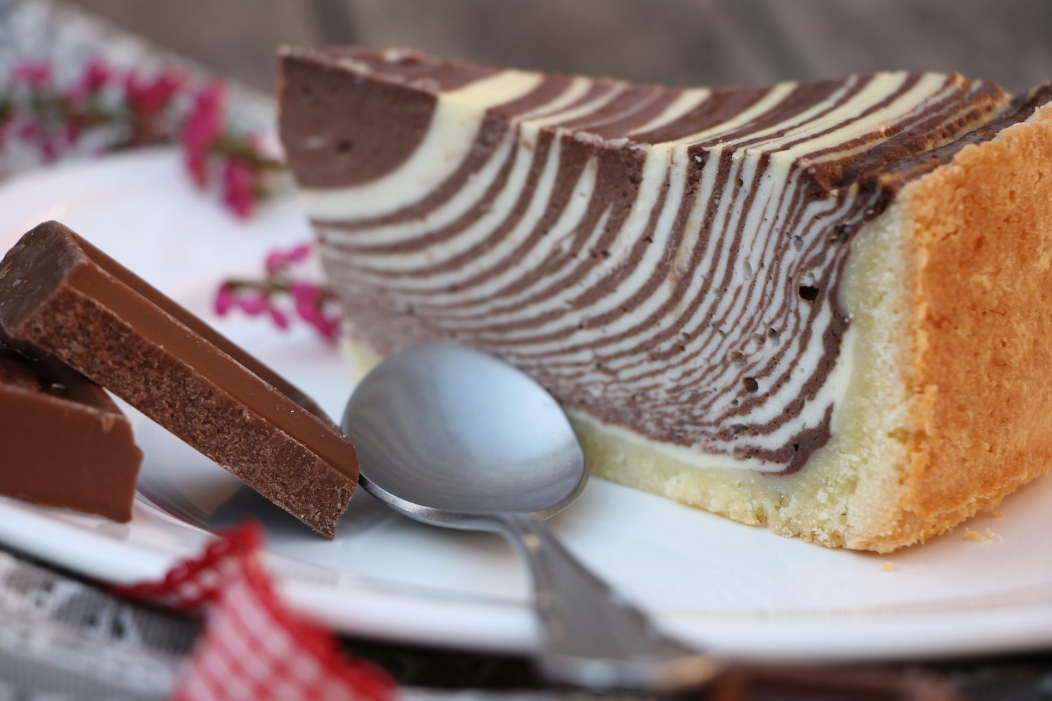Käsekuchen mit Schokolade Rezept