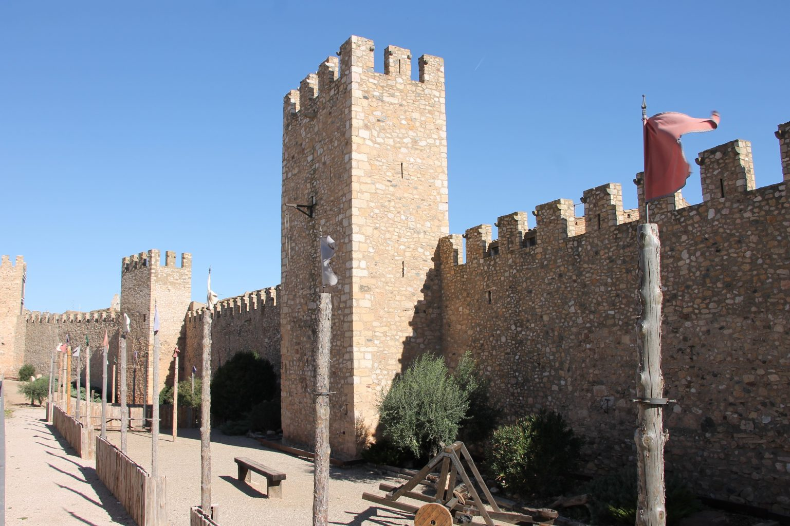 Montblanc Spanien Stadtmauer
