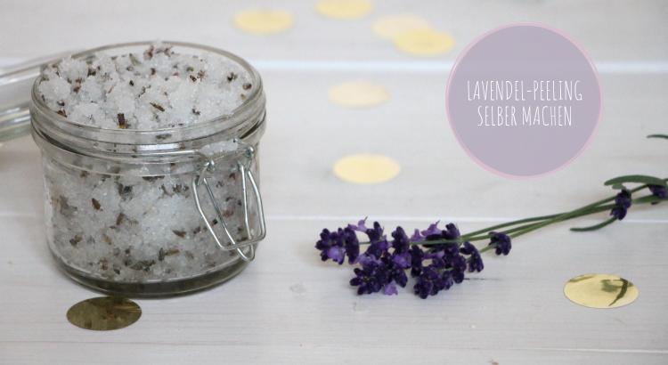 Peeling selber machen Lavendel