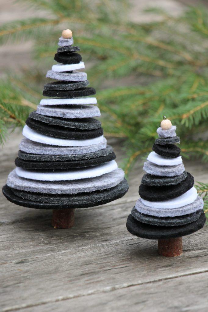 Bastelidee Filz Weihnachten
