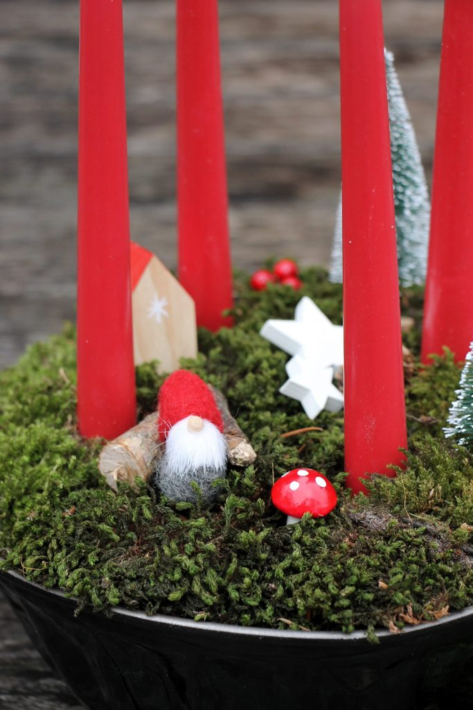 DIY Adventskranz Gugelhupf Form