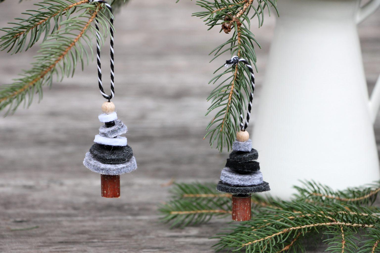Weihnachtsbaumanhänger basteln