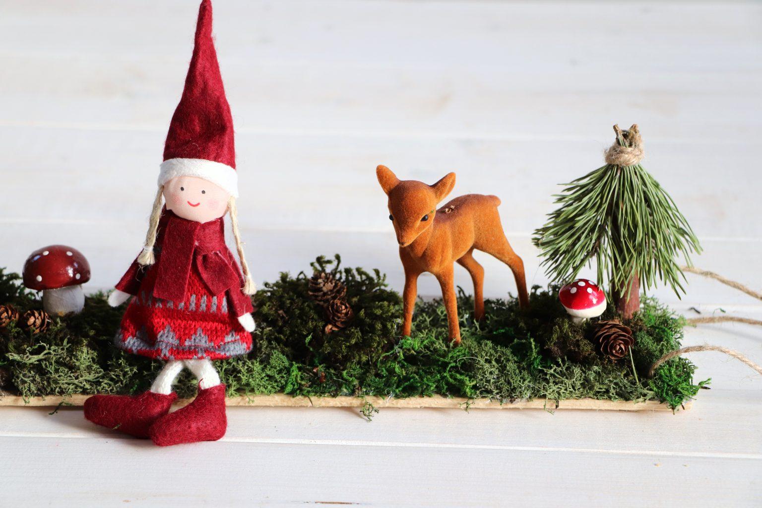 Weihnachtsdeko Idee Wichtel
