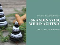 Filz-Tannenbäume als Weihnachtsdeko oder Tannenbaumschmuck
